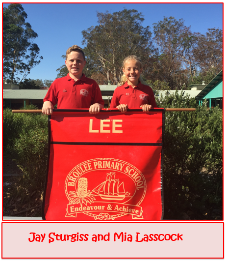 2020 Lee House Captains - Jay Sturgiss and Mia Lasscock