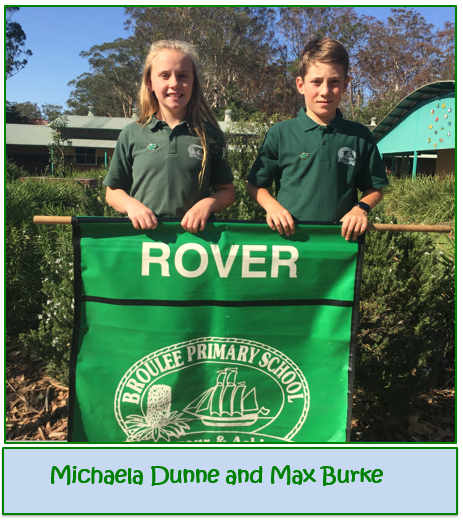 2020 Rover House Captains - Michaela Dunne and Max Burke
