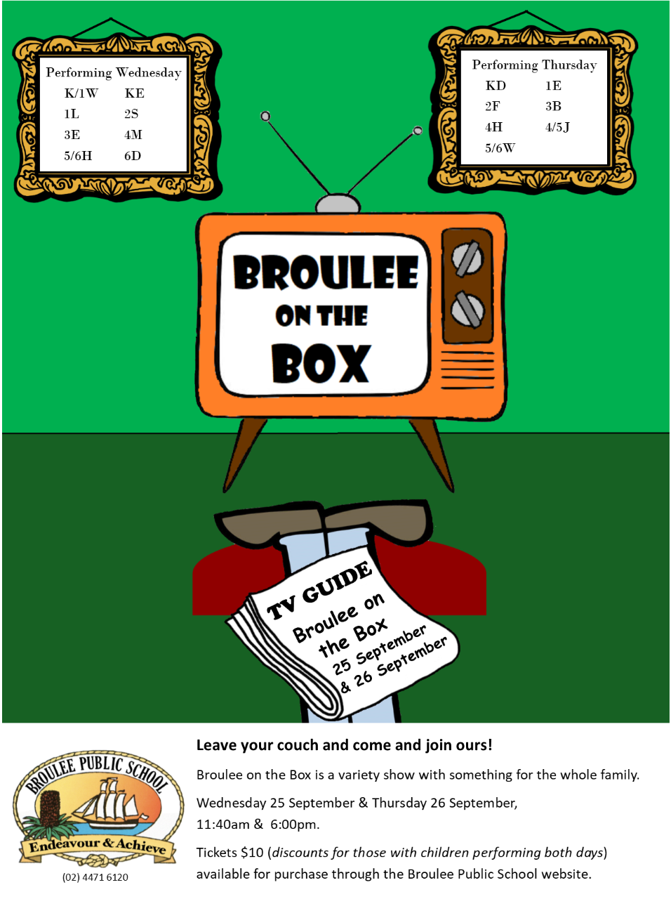 Broulee On The Box