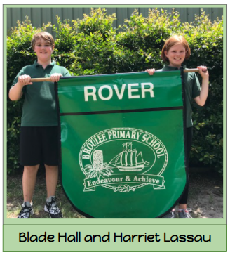 2021 Rover House Captains - Harriet Lassau and Blade Hall