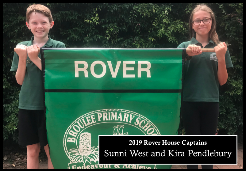 2019 Rover house captains: Sunni West and Kira Pendlebury