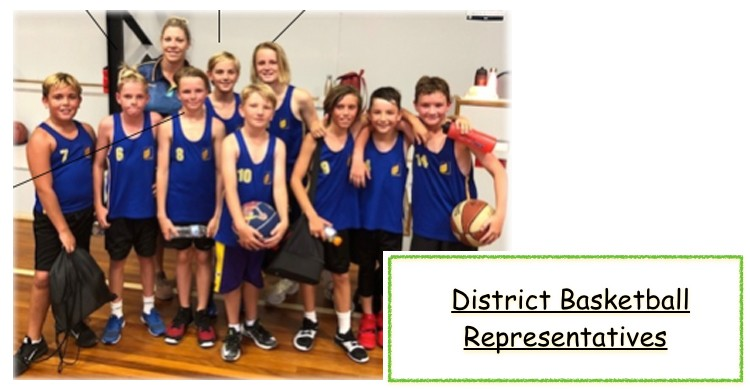 District basketball representatives